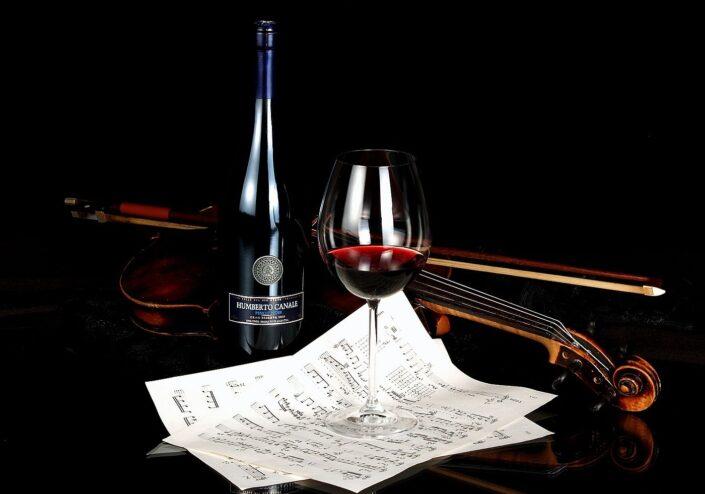 Produktová fotografie víno