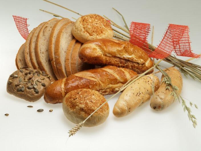 Produktová fotografie pečivo chleba