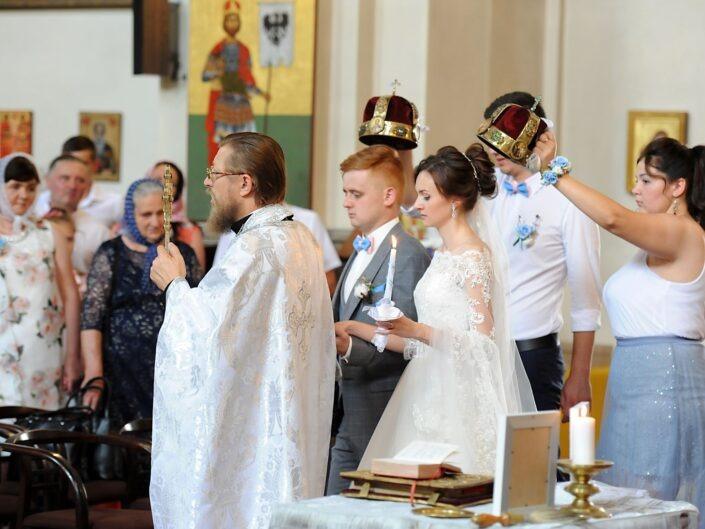 Pravoslavný svatební obřad Praha