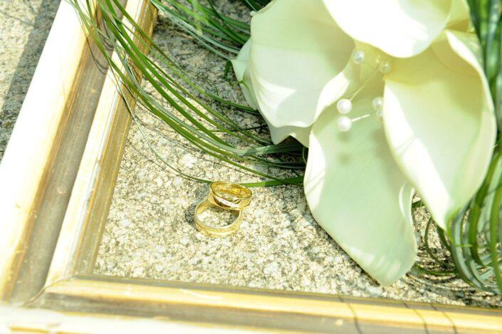 Svatební fotografie prstýnky