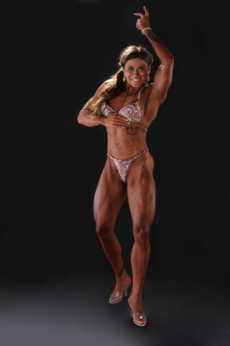 Fitness fotografie profesionálka bodybuilding Zuzana Kučerová