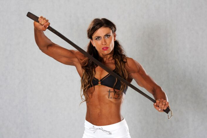 Fitness profesionálka bodybuilding Zuzana Kučerová - volná disciplína