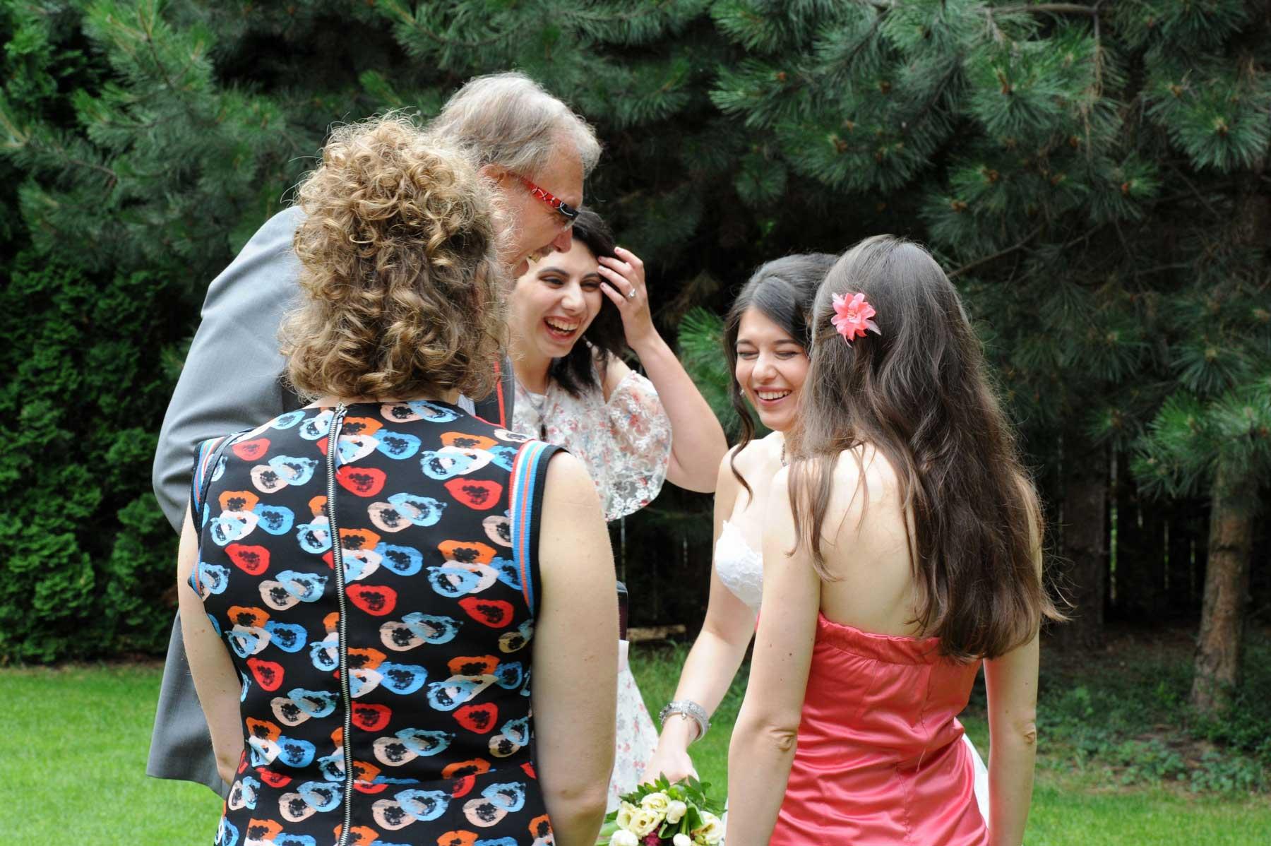 Svatební focení - zábava pro svatebčany