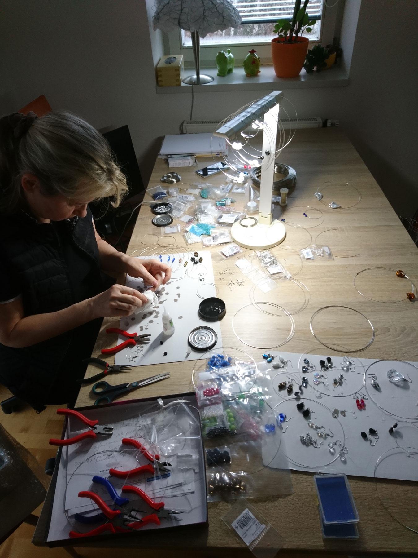 ruční výroba šperků Jiřina Georgina Chrtková