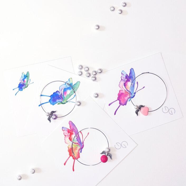 Dívčí náramek s Andělem Design © Copyright Jiřina Georgina Chrtková FAST SHOTS, s.r.o.