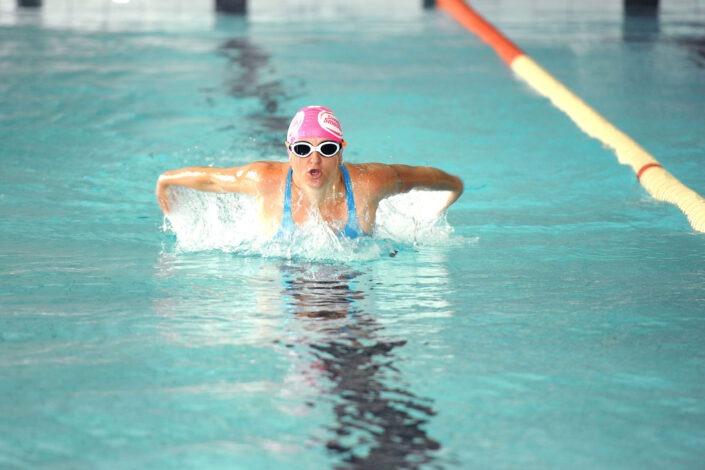 Portrétní fotografie Gabriela Minaříková Plavecká škola Swim Smooth Czech