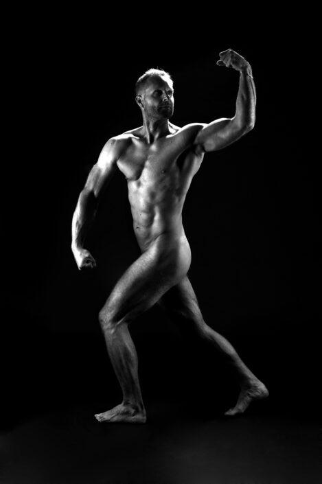 Fitness fotografie focení aktů