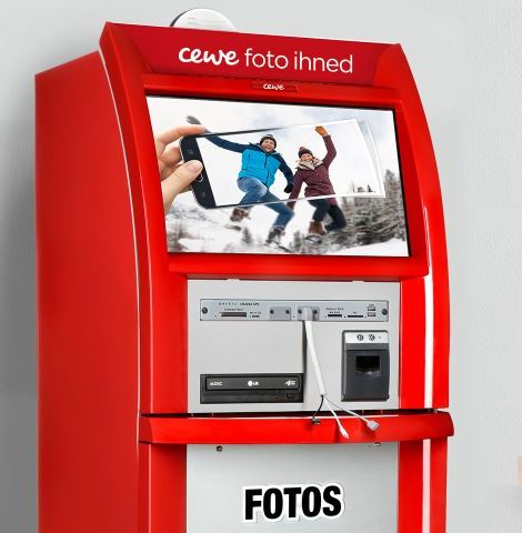 Samoobslužný kiosek pro fotky ihned CEWE fotolab FAST SHOTS, s.r.o.