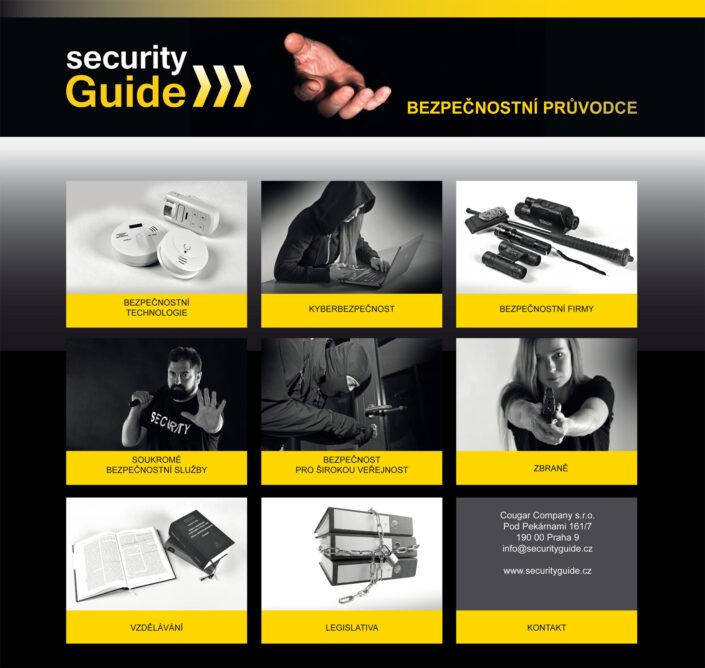 Security Guide nová vizuální identita