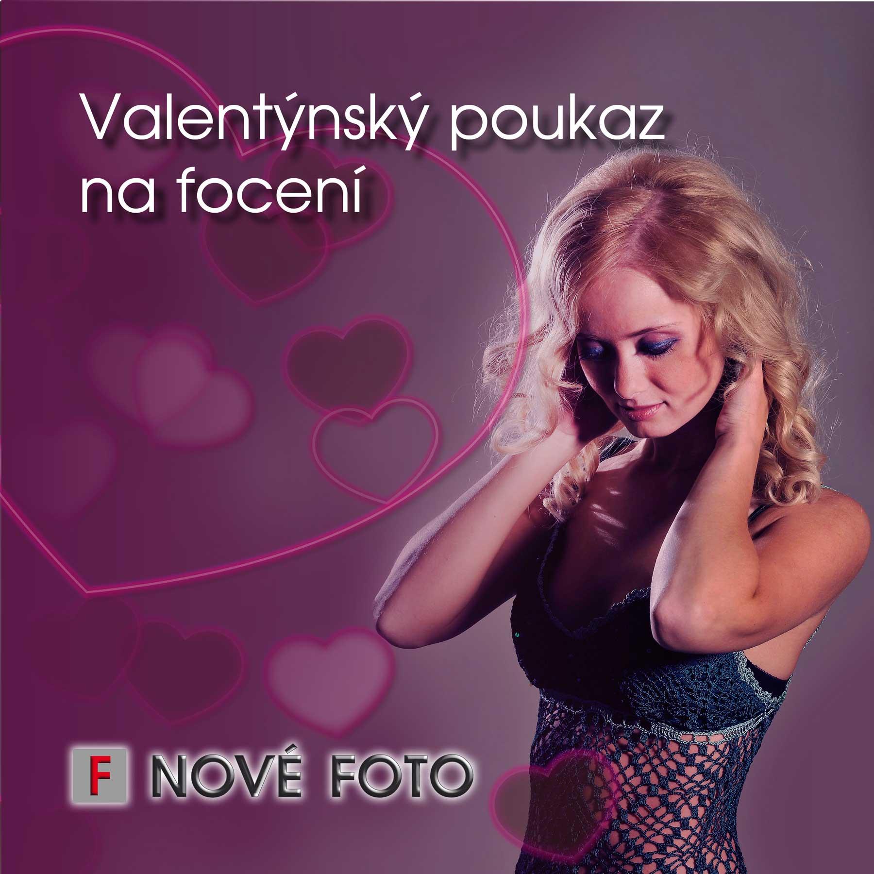 Valentýnský dárkový poukaz na focení