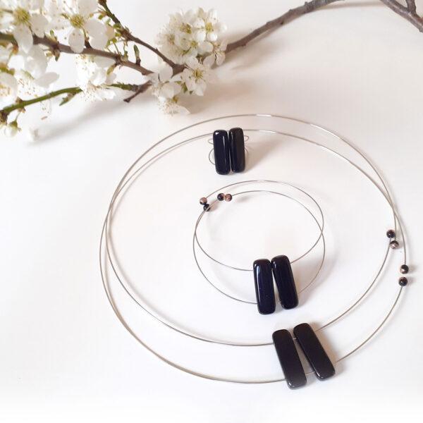 Souprava set šperků DIANA Design © Copyright Jiřina Chrtková FAST SHOTS, s.r.o.
