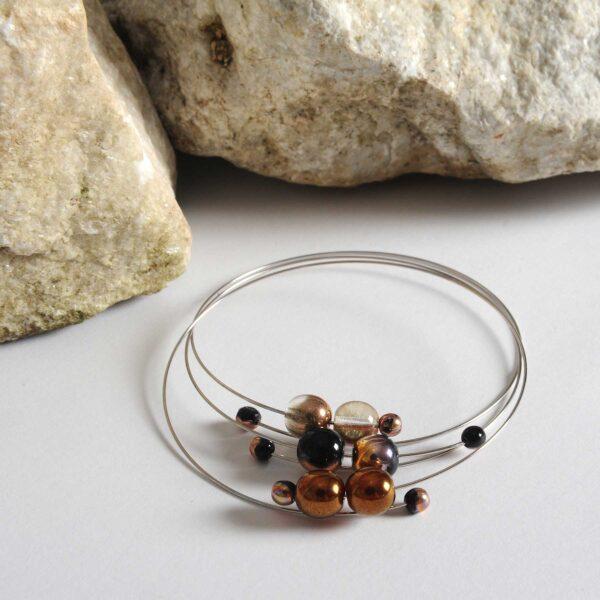 Náramky Klára šperky Design © Copyright Jiřina GeorGina Chrtková FAST SHOTS, s.r.o.
