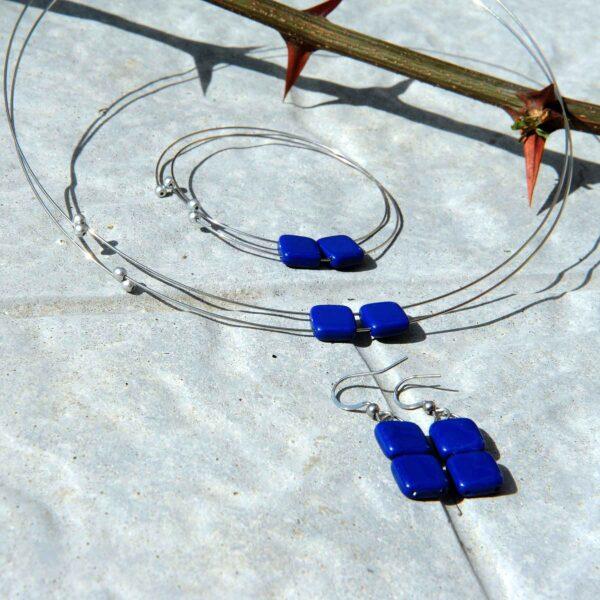 Souprava šperků, set Michaela Design © Copyright Jiřina GeorGina Chrtková FAST SHOTS, s.r.o.
